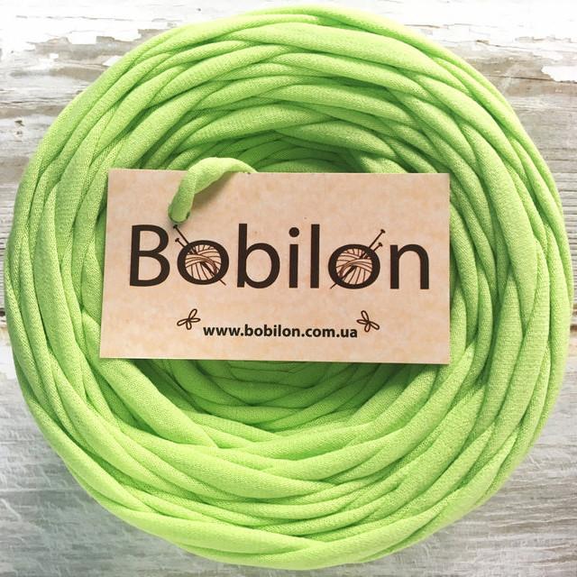 Ленточная пряжа Бобилон, цвет 13 фисташковый