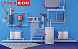 """Котел электродный (ионный) тип """"EOU"""" 380-V/12 кВт 180 м², фото 8"""