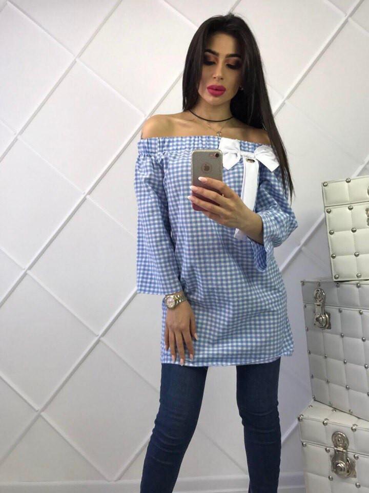 Модное женское платье-рубашка