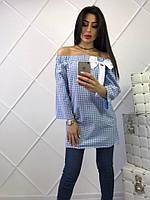 Модное женское платье-рубашка, фото 1