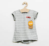 Хлопковая футболка  Бемби для девочки р.110