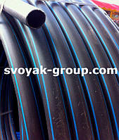 Труба полиэтиленовая черная 16 мм.
