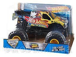 Hot Wheels Monster Jam 1:24 Team Hot Wheels Металлический внедорожник (США)