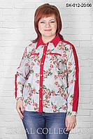 Оригинальная блуза СК-012 (р.48-54), фото 1