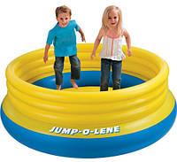 Детский надувной батут Intex Jump-O-Lene, батут детский надувной