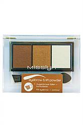 Misslyn - Тени для бровей - Eyebrow & Lift Powder - M373.4
