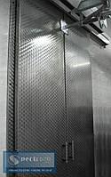 Двустворчатые раздвижные двери для подвесных путей
