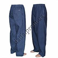 Мужские брюки БАТАЛ (тонкий джинс) H4 оптом со склада в Одессе