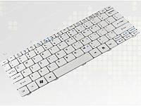 Клавиатура Acer Aspire One 521, 522, 532, 533, D255, D255E, 257, D260, Gateway LT21,RU, white
