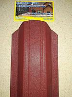 Металевий штахетник фігурний, глянець (товщина0,35мм), фото 1