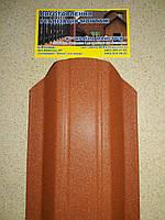 Металевий штахетник фігурний, мат (товщина0,5мм), фото 1