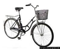 """Дорожный велосипед 26 дюймов RETRO """"Салют"""" черный ***"""