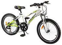 Детский горный велосипед 20 дюймов Azimut Knight G-1 (оборудование SHIMANO) зеленый***