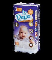 Подгузники Dada Premium 3 MIDI (4-9 кг), 60 шт