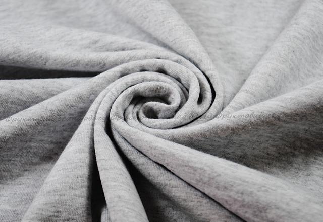 Серо-лиловая мягкая женская футболка