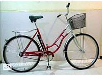 """Дорожный велосипед 26 дюймов RETRO """"Салют"""" красный ***"""