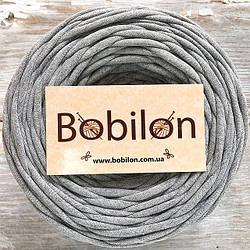 Т-пряжа Бобилон, цвет 03 серый меланж