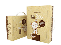 Туалет для котов многоразовый Китту Бох KittyBox PetCare экотуалет эко наполнитель для кошек