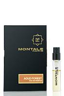 Парфюмированная вода Montale AOUD FOREST - vial spray для мужчин 2 мл
