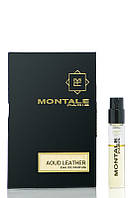 Montale AOUD LEATHER - vial spray