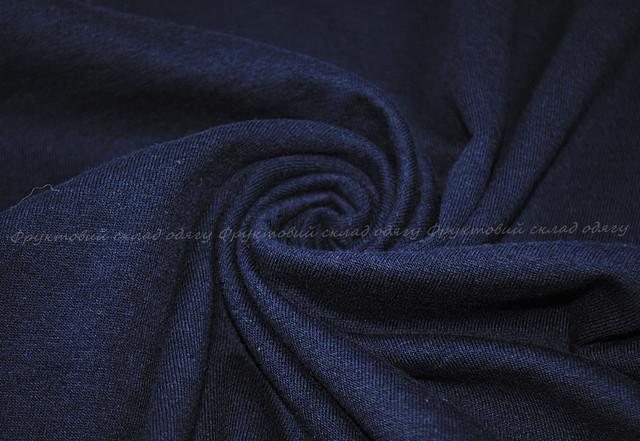 Глубоко тёмно-синяя мягкая женская футболка