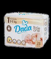Подгузники DADA Premium Newborn №1 (2-5 кг), 28 шт
