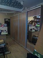Шкаф купе в детскую на 4 двери