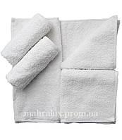 Полотенце хлопок белое для рук 30х30 см