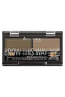 Rimmel - Набор Для моделирования бровей - Brow This Way - 002