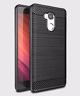 Чехол для Xiaomi Redmi 4 Pro / Redmi 4 Prime Carbon Black