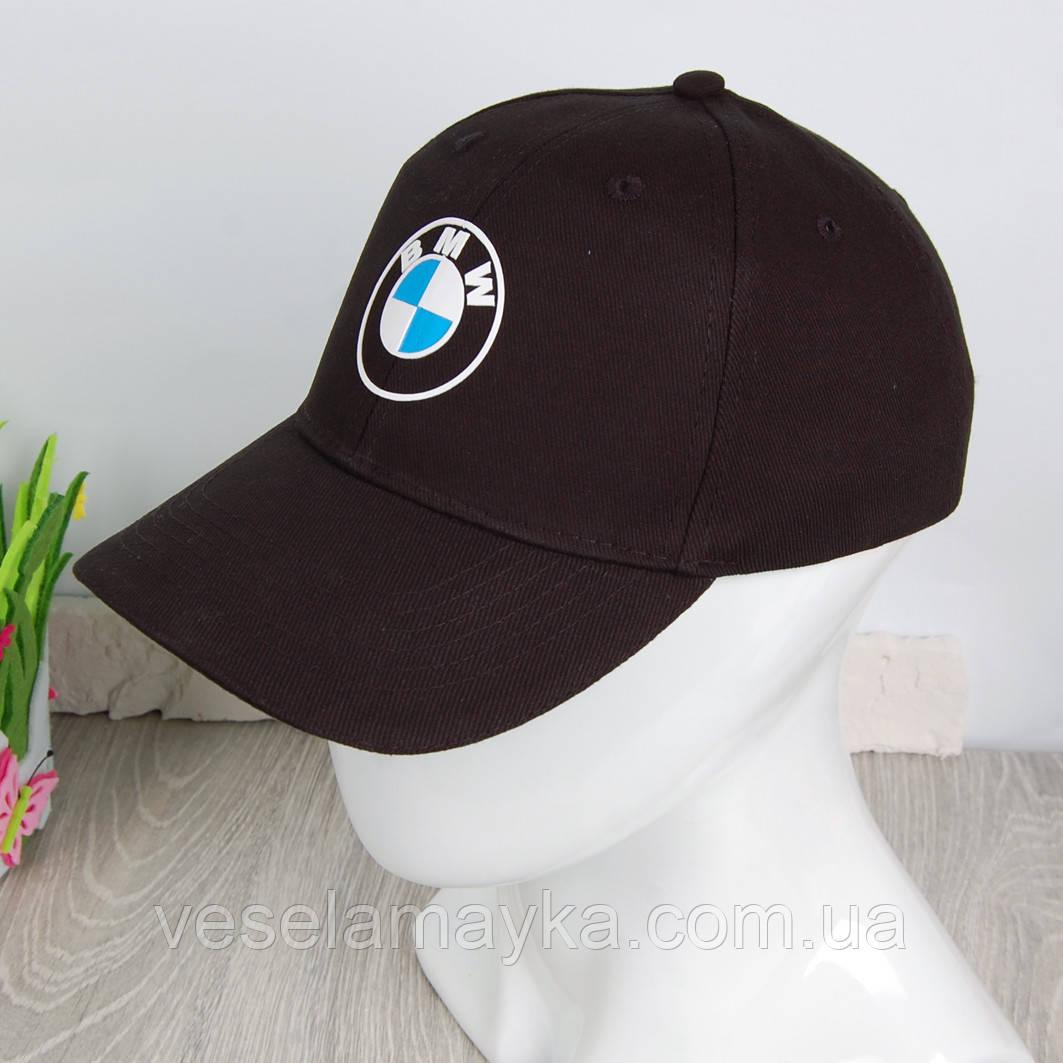 Чорна кепка BMW logo