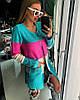 Женский модный цветной кардиган в полоску (2 цвета)