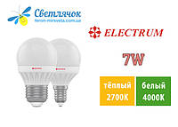 Светодиодная лампа Electrum 7W D45 E14 LB-12