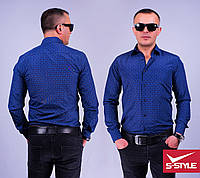 Стильная мужская рубашка Baressi