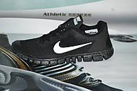 Мужские кроссовки NIKE FREE RUN 3.0. ЧЕРНЫЕ КОСМОС