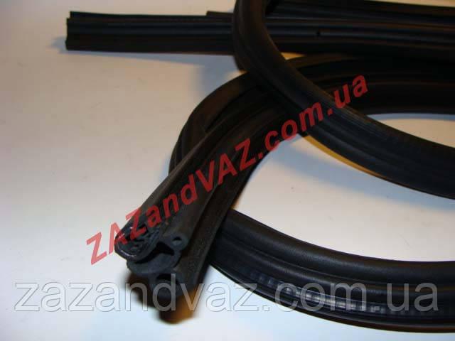 Уплотнители дверей ВАЗ 2109-21099 Россия комплект 4 шт. длина 3.45+3.2