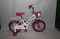 Велосипед двухколёсный 16 дюймов Azimut Mermeid  CROSSER-8 розовый***