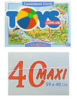Пазл на 40 деталей Maxi «Бэмби», B-040094