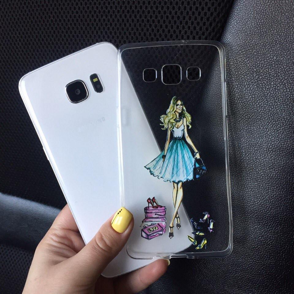 Чехол силиконовый для Samsung Galaxy J7 2015 (J700h)