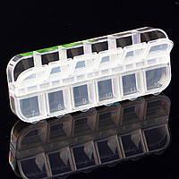 Отсеки для хранения различных аксессуаров 12 ячеек