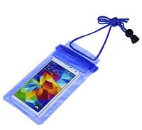 Водонепроницаемый чехол сумка для телефона 5,5 дюймов. Синий