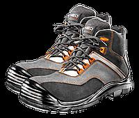 Ботинки рабочие S3 SRC, без металлической вставки, размер 42, CE NEO Tools 82-063