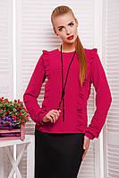 Женская блуза с рюшами Влада Glem 44-48 размеры