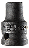 "Головка ударная 6-гр 1/2"", 12 x 38 мм, Cr-Mo NEO Tools 12-212"