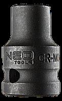 "Головка ударная 6-гр 1/2"", 11 x 38 мм, Cr-Mo NEO Tools 12-211"