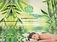Махровая простынь Best Rose Bamboo 200*220, оливковая , фото 3