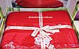 Махровая простынь Best Rose Bamboo 200*220, красная, фото 2
