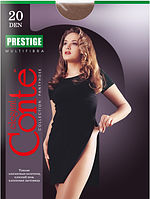 Колготы CONTE PRESTIGE 20 ден (nero, bronz, mocca, natural, grafit) (2; 3; 4)