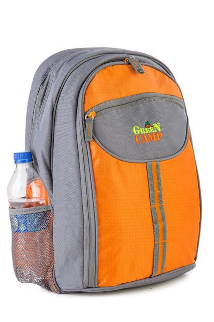 Рюкзак для пикника Green Camp 4 персоны. Распродажа! Оптом и в розницу!