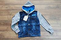 Джинсовая куртка со съемным капюшоном  16 лет